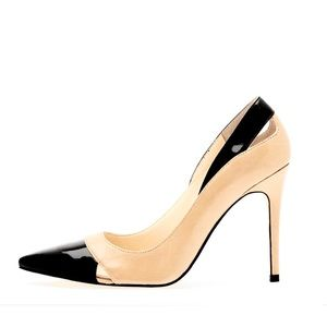 Ivanka Trump Itgurdia colorblock patent pumps